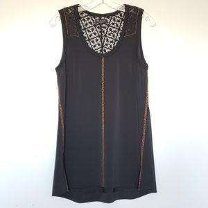 Rag & Bone lace back sleeveless tunic